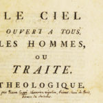 Pierre Cuppe: Heaven Open to All Men (1743)