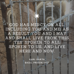 "Karl Barth: ""God has mercy on us."" Sermon from the Basel prison"